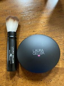 Laura Geller Baked Elements Blush in FLORENCE Retractable Brush BRAND NEW No Box