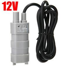 12V Electric High Flow Water Pump 600L/H Submersible Camper Caravan Motorhome