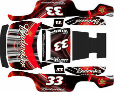 TRAXXAS SLASH 5ive T Red King Theme wrap decals stickers STOCK 2WD SLASH BODY