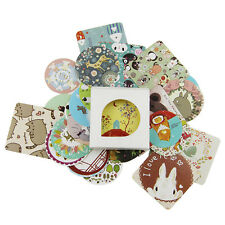 38 pcs/bag Diary Decoration Scrapbooking DIY Cute Kawaii Paper Sticker E2E8
