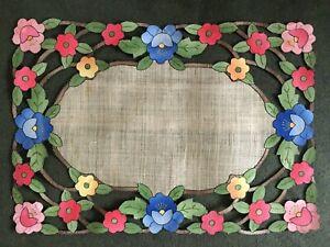 Unique Vintage Handmade Placemats