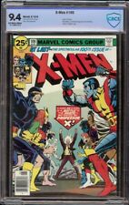 X-Men # 100 CBCS 9.4 OW/W (Marvel, 1976) Old vs. New X-Men, Phoenix cameo