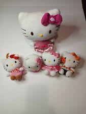 Hello Kitty Plush Stuffed Animal Lot Christmas Halloween Some Ty