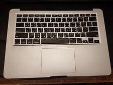 Apple MacBook Air a1369 Touch Pad Palmrest Taiwan Keyboard 069-6336-02