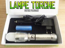 LAMPE TORCHE 4000 LUMENS 200W LED CREE 3 MODES FLASHLIGHT SUPER PUISSANT + PILE