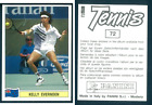 Kelly Evernden (NZE) Tennis 1992! Edizioni Panini MINT n.72!