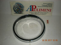 6584 CORNICE FARO DX PLASTICA CROMATA (HEADLIGTH RING TRIM) AUTOBIANCHI A112 E