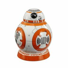 Official Star Wars BB-8 Ceramic Cookie Jar Biscuit Tin - Boxed