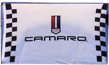 FREE SHIP to USA Camaro Luxury Cars Chevrolet White Checkered Banner Flag 3X5ft