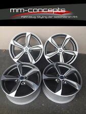 20 Zoll Borbet S Felgen 9x20 et50 5x130 Silber für Mercedes Porsche VW Audi