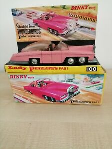 DINKY 100- LADY PENELOPE'S FAB 1  - 'THUNDERBIRDS' GERRY ANDERSON 1967