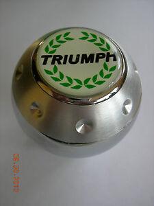 TRIUMPH WREATH SPITFIRE TR3 TR4 TR6 TR250 TVR HERALD ALUMINUM GEAR SHIFT KNOB