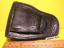 Older Used  BLACK Hand Cuff Police HOLSTER by A HOFFMAN & SONS Mfg LA Calif