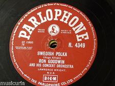 78rpm RON GOODWIN swedish polka / lingering lovers R 4349