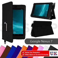 PU Leather Case Cover for Asus Google Nexus 7 1st Gen Tablet 2012 Screen film