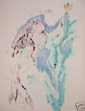 Ernesto Treccani litografia 65x85 a foglio pieno
