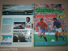 GUERIN SPORTIVO=N°24 1988 ANNO LXXVI=SPECIALE EUROPEI=POSTER UDINESE 87/88 40X27
