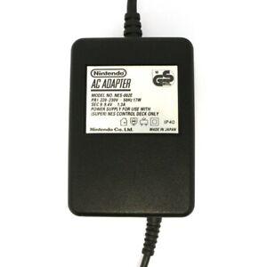 SNES orig Netzteil / AC Adapter NES-002ED Nintendo für NES/SNES DE BUNDLEARTIKEL