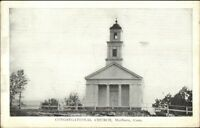 Marlboro CT Cong Church c1920s Postcard