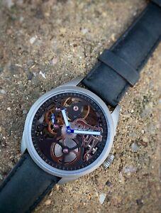 TC-9  TITANIUM Pilot Watch - Skeleton Edition