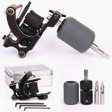 Tattoo Coils Machine Selflock Grip Silicone Cover Tips Tattoo Kit for Liner