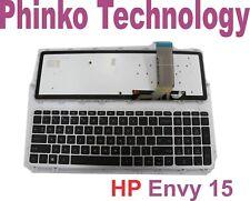 Keyboard With Frame BLACKLIT for HP Envy 17-j005tx US