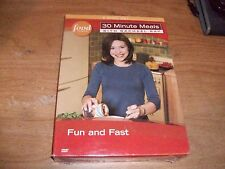 Food Network 30 Min Meals With Rachael Ray Fun and Fast (DVD, 2007, 3-Disc Set)