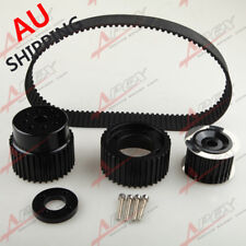 "1.5"" Notch Belt For 12A 13B 20B 15mm RX7 FD RX3 Gilmer Drive Pulley Kit Black AU"