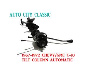 Automatic Steering Column 1967-1972 C-10 Chevrolet GMC Pickup Truck