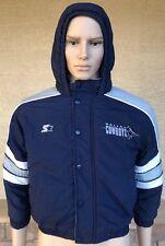 eddefb338 Gender  Unisex Children. Vintage 90s Dallas Cowboys Starter Puffer Hoodie  Jacket Size Small Korea