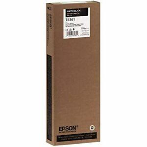 T636100-Genuine Epson Photo Black HDR Ink Cartridge, Expired 2017, T6361, OEM