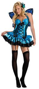 Lila Schmetterling Damen Kostüm Tiere Bunt schwarz Karneval Fasching #WIM 0759