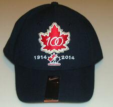 Канада 2015 мира среди юниоров хоккей 100-юбилей l91 swooshflex Черный Hat Cap