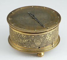 unique German / French Renaissance horizontal table clock ca 1550 Iron-Movement