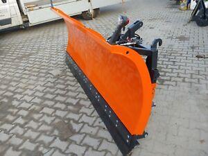 Schneeschild Schneepflug Räumschild 2,6 m Hydraulisch Kat 2 Euroaufnahme Traktor