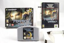 Perfect Dark (Nintendo 64) N64 Spiel in OVP, PAL, CIB, TOP, GUT bis SEHR GUT