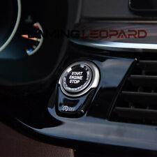 For BMW 5-Series G30 2018 Car Interior Engine Start/Stop Button Crystal Trim