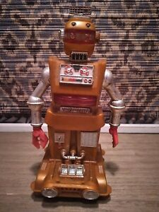 Zeroids Zobor Robot 1968 Ideal Toys Rare Incomplete