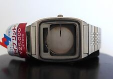 RARE VINTAGE NOS SEIKO DIGITAL ANALOG QUARTZ WATCH H357-5130 NEW CASE BRACELET