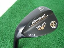 Cleveland Reg 588 Tour Zip Grooves 56 Sand Wedge Black Pearl Left Hand 56.14