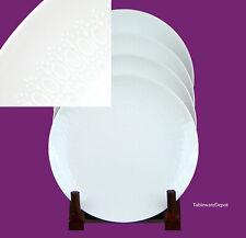 Rosenthal ROMANCE WHITE: Set of 4 Bread & Butter Plates, MINT UNUSED! 31250
