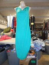 In The Mix Cowl Neck Twisted Back Maxi Dress, Medium, Green
