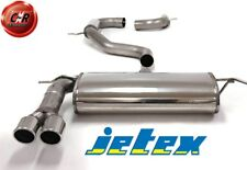 Audi A3 Sportback 8P 2.0TFSi Stainless Steel Jetex Exhaust System 40-H3DR 03 On