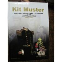 History of the Uniforms Badges Medals Caps etc Australian Navy Kit Muster book