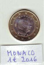 MONACO 1 Pièce de 1 € / 2007 Etat TTB++ / 2016 Etat UNC