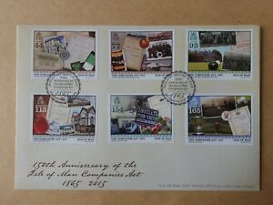 Isle of Man Stamp :150th Anniversary of the Isle of Man Companies Act 1865 -2015