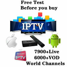 12 Months Subscription MAG STB STBEMU Smart TV World Europe channels sports