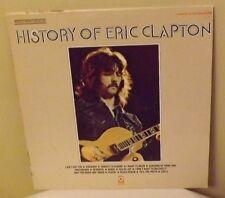 Eric Clapton, History Of 1972 ATCO  SD2-803, double vinyl LP set