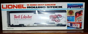 Lionel #6-7510, Red Lobster reefer car, new, old stock. (14D)