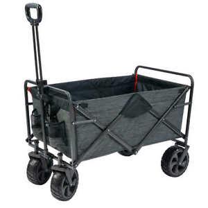 Mac Sports Folding Wagon with Cargo Net
